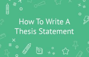 Papers with thesis statements